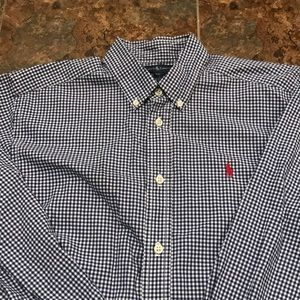 Ralph Lauren gingham button down